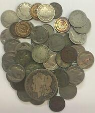 ESTATE LOT  **** 51 OLD U.S. COINS  **** L@@K AT PICTURES!!!!!  #122