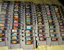 Super Nintendo SNES Games LOT ✨USA Authentic✨ Quality Titles! ✨ BUY MORE & SAVE