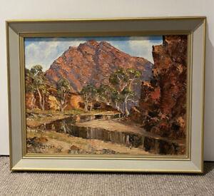 The Sentinal Brachina Gorge Flinders Ranges South Australia Oil Painting
