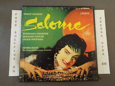 *STRAUSS SALOME BIRGIT NILSSON SOLTI 2xLP BOX SET W/ LIBRETTO LONDON OSA 1218