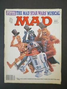 Vintage MAD Magazine Comic Book Issue #203 December 1978 STAR WARS the Musical