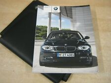 BMW 1 SERIES HANDBOOK  OWNERS MANUAL 2008-2011  AND AUDIO BOOK , ref w50