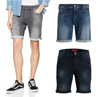 Mens Jack & Jones Denim Summer Jean Shorts Regular Fit Half Pants S M L XL 2XL