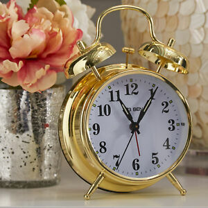 Westclox Big Ben Twin Bell Alarm Clock Gold 70010G
