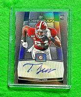 TERRELL LEWIS AUTO PRIZM ROOKIE CARD SP #/99 RAMS RC 2020 CHRONICLES OBSIDIAN RC