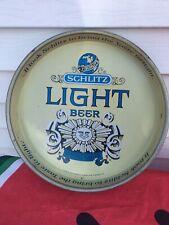 Shlitz Light Beer Tray