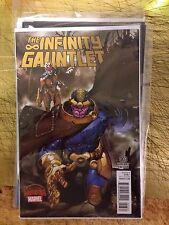 INFINITY GUANTLET 3 SIMONE BIANCHI VARIANT Thanos Cover Nm 1:25