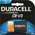 Duracell CR-V3 Ultra Lithium Battery BRAND NEW FACTORY SEALED EXP 2024