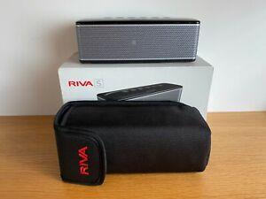 Riva S Premium Wireless Bluetooth Speaker Black