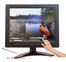 "8"" USB Multimedia Player LCD Touch Screen HDMI AV BNC PC VGA TFT LED Monitor US"