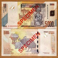 SPECIMEN, Congo D. R., 5000 (5,000) Francs, 2013, P-102bs, UNC
