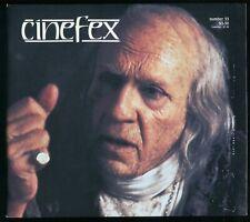 Cinefex Magazine No. 33 February 1988 Dick Smith / James Bond / Predator