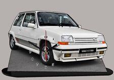 RENAULT 5 GT TURBO, R5 gt turbo , en horloge 04