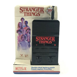Stranger Things Double Sided Mystery Puzzle In Tin Walkie Talkie Box 200 Piece