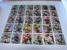 2004 NRL HOT SHOT Tazo SILVER FOIL FULL SET - 30 Cards - 2 players X 15 teams
