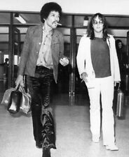 Jimi Hendrix photograph - L2888 - With road manager Eric Barrett - New Image!
