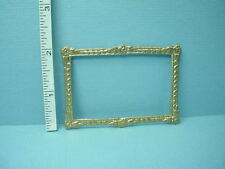 Dollhouse Miniature Picture Frame  - #35 Painted Metal 1/12th Scale