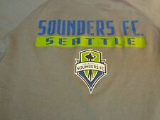 MLS Seattle Sounders FC YOUTH MEDIUM 10/12  Soccer Futbol T Shirt    L4