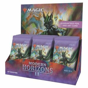 PREORDER Magic Modern Horizons II (2) Set Booster Box