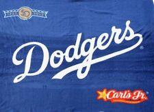 LA Dodgers 50th Anniversary Fleece Blanket SGA 9/13/12 New in Bag!