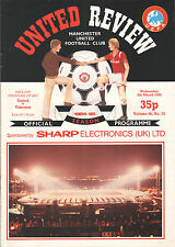 1984/85 Manchester United v Videoton, UEFA Cup, PERFECT CONDITION