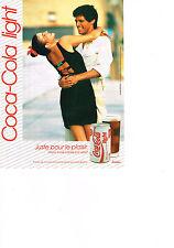 PUBLICITE ADVERTISING  1992    COCA- COLA LIGHT