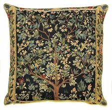 "NEW 18"" WM MORRIS ARTS & CRAFTS TREE OF LIFE QUALITY TAPESTRY CUSHION COVER 1085"