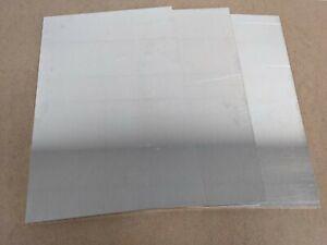 Aluminium Sheets 4mm grade 5083 (Pack of 3)