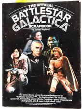Vintage 1978 Official Battlestar Galactica Scrapbook- 100+ Pages (J-6036)