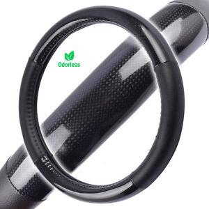 Carbon Fiber Tuning Sport Grip Steering Wheel Cover for CHEVROLET Car Truck SUV