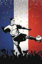 Netherlands Soccer Player Sports Mural inch Poster 36x54 inch