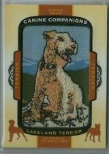 2018 Upper Deck Goodwin Champions Canine Companions Lakeland Terrier