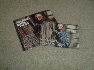 JOHN MAYALL - NOBODY TOLD ME - CD ALBUM + HAND SIGNED PHOTO CARD - BRAND NEW
