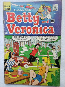 Archie's Girls Betty and Veronica #119 (Nov. 1965, Archie) [VG 4.0]