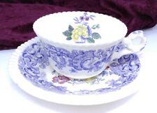 Vintage Antique Copeland England SPODE'S MULBERRY BEVERLEY Cup & Saucer