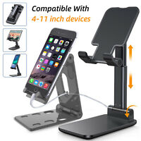 Adjustable Cell Phone Tablet Stand Desk Holder Portable Cradle For iPhone iPad