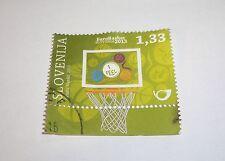 FIBA EUROPEAN BASKETBALL CHAMPIONSHIP FOR MEN 2013 Slovenia Stamp 4-22/9/-2013