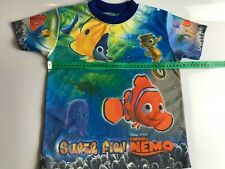 Finding Nemo T Shirt Super Fish Disney Size 8