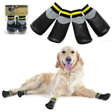 Anti-slip Dog Shoes Waterproof Snow Rain Paw Boots Booties for Small Large Dogs