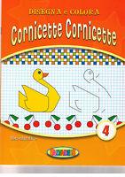 Disegna e colora cornicette. Arancio - Salvadeos - Libro nuovo in offerta!