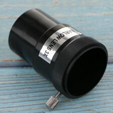 "1.25"" Astronomy Telescope Eyepiece Barlow Lens 3X M42 Thread Universal"