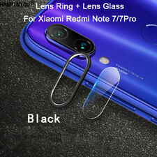 For Xiaomi Redmi Note 7 Back Camera Protector Lens Case Ring Cover + Glass US 2H