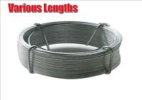 HEAVY DUTY GALVANISED WIRE FENCING OUTDOOR VARIOUS LENGTHS 30FT-300FT