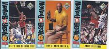 Chicago Bulls Original Basketball Trading Cards Lot