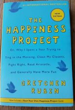 The Happiness Project Gretchen Rubin Trade Paperback Edition 2012 Selfhelp