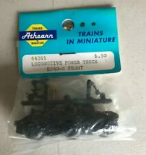ATHEARN LOCOMOTIVE POWER TRUCK SD40-2 FRONT MINIATURE TRAIN PARTS 44011