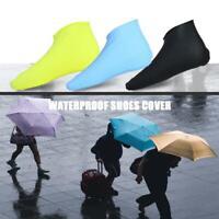 Waterproof Shoes Cover Silicone Non-Slip Men Rain Boots Shoes Protectors Kit
