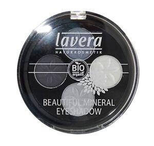 Lavera Beautiful Mineral Eyeshadow Quattro - Blue Platinum #7 .17oz