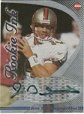 1998 Collector's Edge First Place Rookie Ink  Jim Druckenmiller