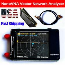 """Nano Vna 50Khz-900Mhz Vector Network Analyzer Hf Mf Vhf Uhf Antenna 2.8"""" S2D4"""